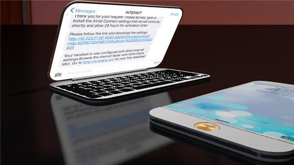 Dù sở hữu 2 màn hình nhưng độ mỏng của chiếc Iphone này vẫn rất đáng kinh ngạc. (Ảnh: Internet)