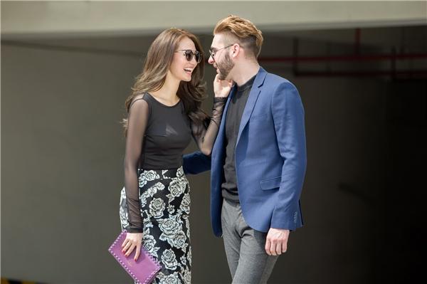 Cả hai sở hữu sắc vóc khá tương đồng. Ngoài ra cặp đôi còn gặp nhau ở những điểm thú vị trong tính cách.