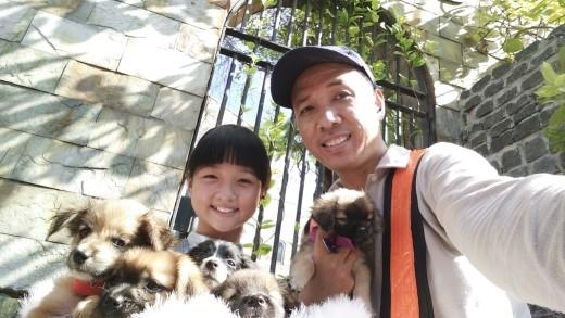"Hai cha con rất nhiệt tình ""selfie"". - Tin sao Viet - Tin tuc sao Viet - Scandal sao Viet - Tin tuc cua Sao - Tin cua Sao"