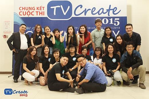 Ban tổ chức TVCreate 2015.