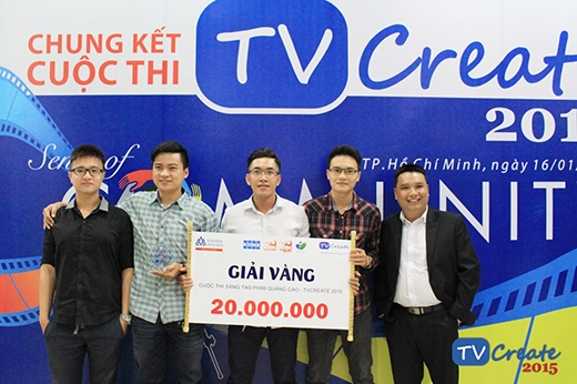 Căng thẳng vòng chung kết TVCreate 2015