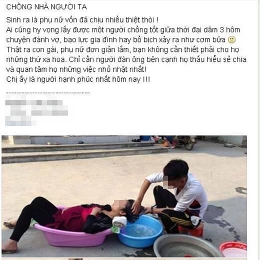 Bức ảnh được đăng tải lên mạng xã hội từ một trang giải trí dành cho giới trẻ. (Ảnh: FB beatvn)