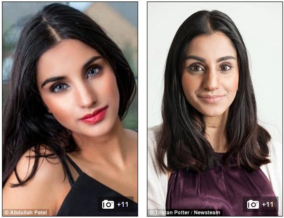 Những cố gắng không biết mệt mỏi của cô nàng đã được đền đáp xứng đáng, khi giờ đâySara Najm đã trở thành người mẫu nổi tiếng. Ảnh: Internet