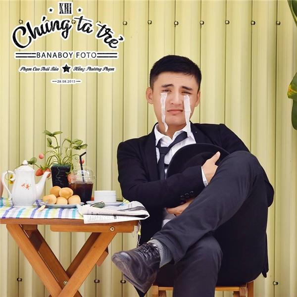 Thái Bảosở hữu vẻ ngoài điển trai cùng nụ cười tươi cuốn hút. (Ảnh: Internet)
