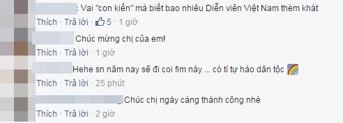 Cư dân mạng bày tỏ niềm tự hào và chúc mừng đả nữ Ngô Thanh Vân. - Tin sao Viet - Tin tuc sao Viet - Scandal sao Viet - Tin tuc cua Sao - Tin cua Sao