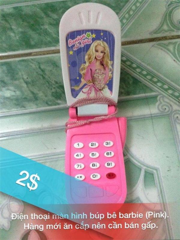 Điện thoại thời thượng mới ăn cắp được nên buộc lòng phải bán gấp. (Ảnh: Tạ Quang Vũ)