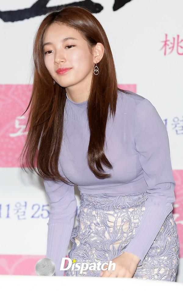 """Nhờ công lăng xê của Suzy, kiểu tóc tỉa layer vốn đã xuất hiện từ khá lâu bỗng chốc """"hot"""" trở lại tại Hàn Quốc và trở thành một trong những kiểu tóc được con gái Hàn diện nhiều nhất thời gian gần đây."""