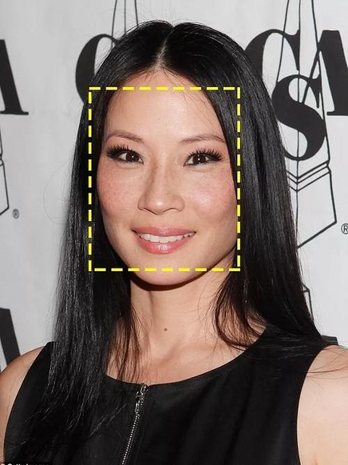 """""""Thiên thần Charlie""""Lucy Liu có khuôn mặt hình chữ nhật. (Ảnh: Internet)"""