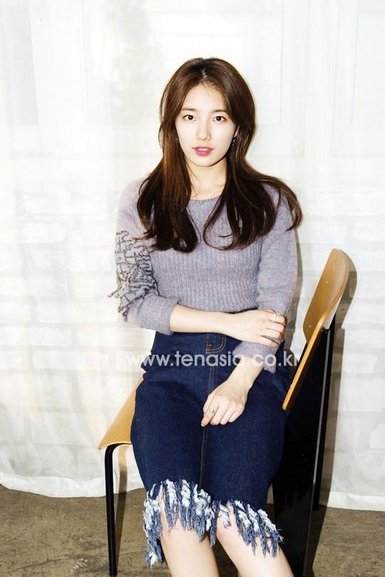 Sau khi Suzy để tóc tỉa layer vào cuối năm ngoái, tại Hàn Quốc, đã có rất nhiều cô gái đổ xô đi cắt kiểu tóc y chang.