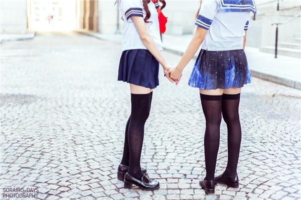 Đồng phục nữ sinh Nhật Bản mang một nét rất riêng, không giống với đồng phục ở bất kì nước nào trên thế giới. (Ảnh: Internet)
