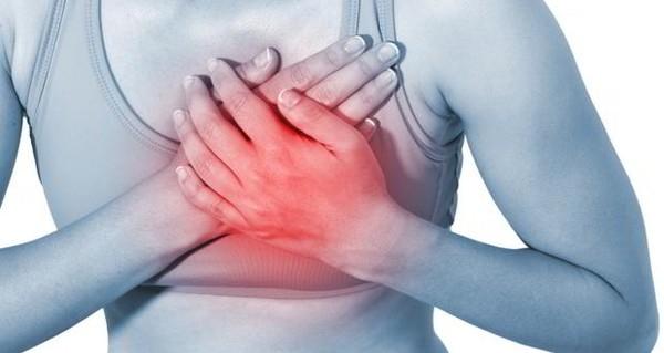 Đau ngực có thể là dấu hiệu của những bệnh lí nguy hiểm. (Ảnh: Internet)