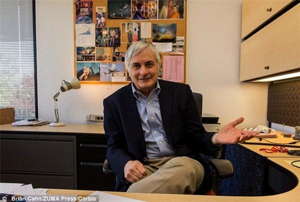 ÔngSeth Shostak - giám đốc Viện tìm kiếm Trí thông minh ngoài Trái đất (SETI). (Ảnh: Brian Cahn)