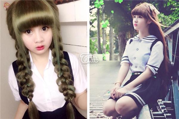Trần Thị Tuyết Mai (sinh năm 1994, quê ở Gia Lai) là cái tên được cư dân mạng nhắc đến khá nhiều trong thời gian gần đây khi sở hữu khuôn mặt xinh xắn như búp bê.