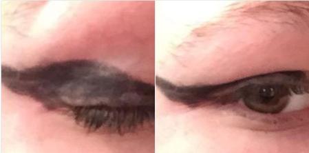"""#16. Khi kĩ năng kẻ viền mắt của bạn vẫn còn """"xanh non""""…(Ảnh minh họa: Internet)"""