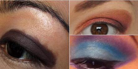 #17. Một đôi mắt được đánh khối kì dị.(Ảnh minh họa: Internet)
