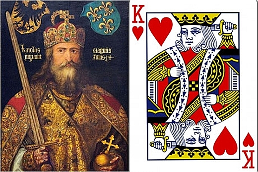 Charlemagne Charles Đại đế (742-814) là hình ảnh đại diện của quân già cơ. (Ảnh: Internet)
