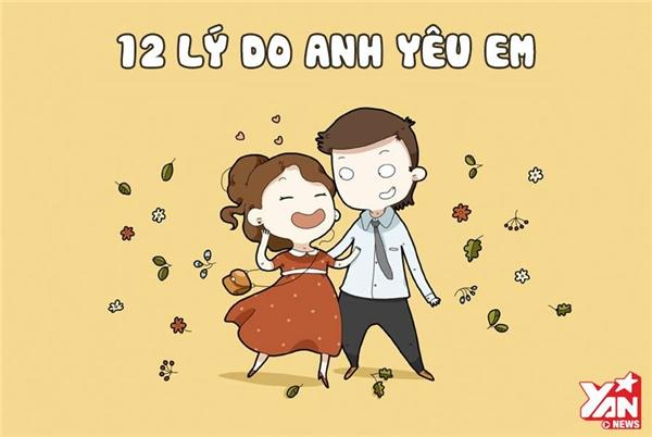 12 lí do anh yêu em...