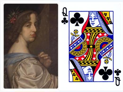 Hoàng hậu Argine là cảm hứng cho quân bài đầm chuồn. (Ảnh; Internet)