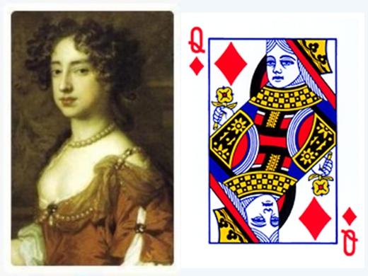 Quân đầm rô chính là biểu tượng của hoàng hậu Rachel. (Ảnh: Internet)