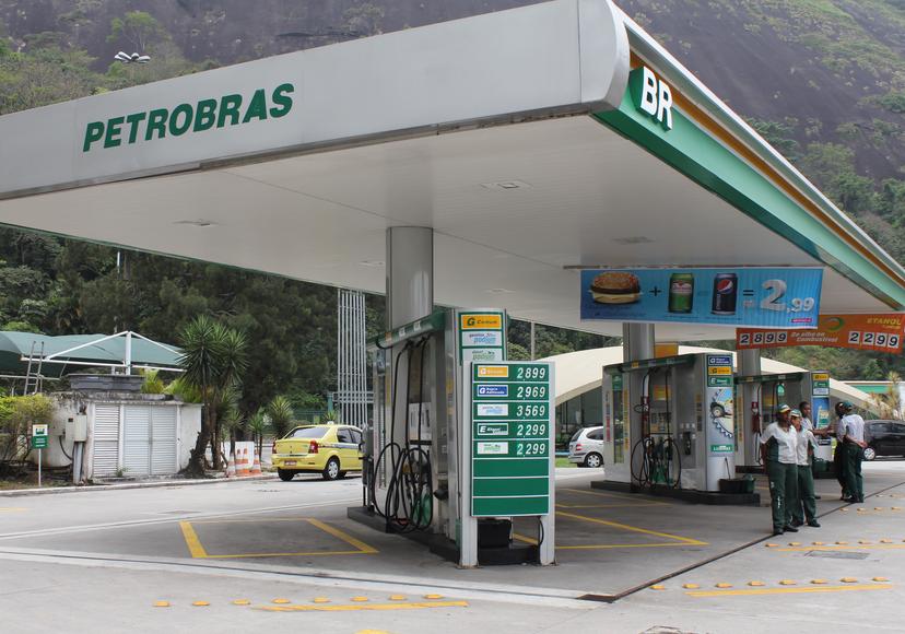 Trạm xăng nơi xảy ra vụ việc. (Ảnh: Telegraph)
