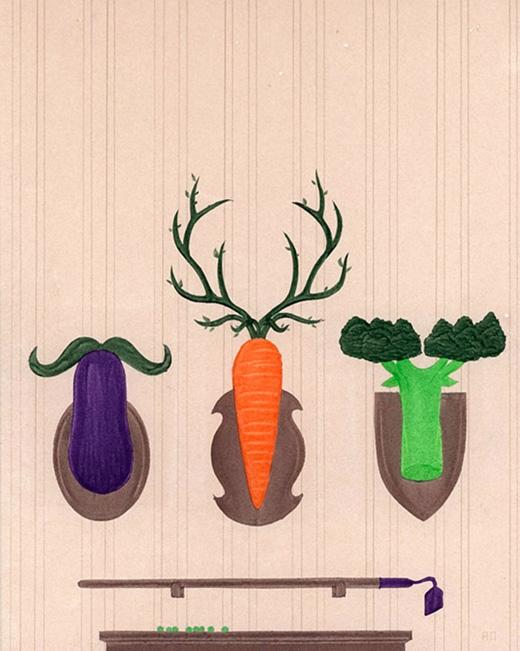 Vì sao phải săn bắt các loài thú vô tội trong khi rau củ quả cũng ngon và đầy đủ dưỡng chất như thịt? (Ảnh: Alex Nabaum)