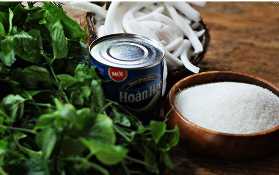 Chỉ cần cơm dừa, sữa tươi và đường(Ảnh:Internet)