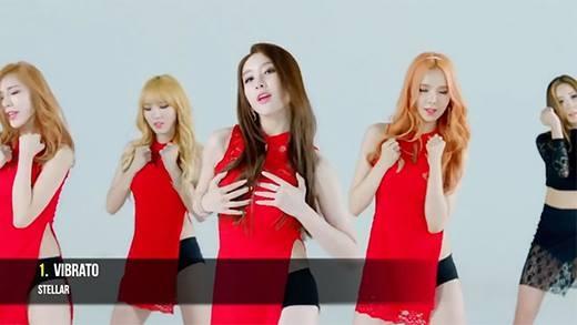 Thần tượng Kpop nào có MV gợi cảm nhất?