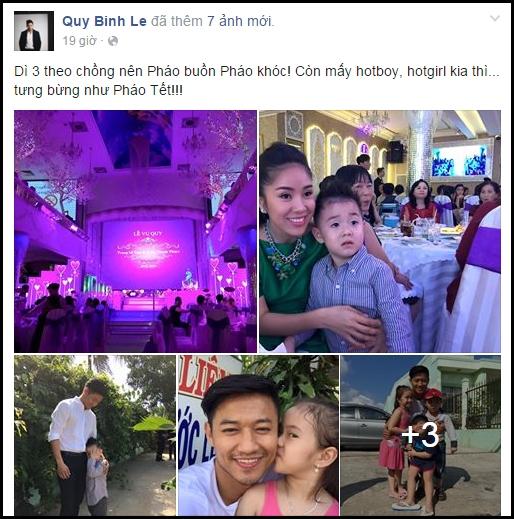Quý Bình tới dự đám cưới của em gái Lê Phương. - Tin sao Viet - Tin tuc sao Viet - Scandal sao Viet - Tin tuc cua Sao - Tin cua Sao