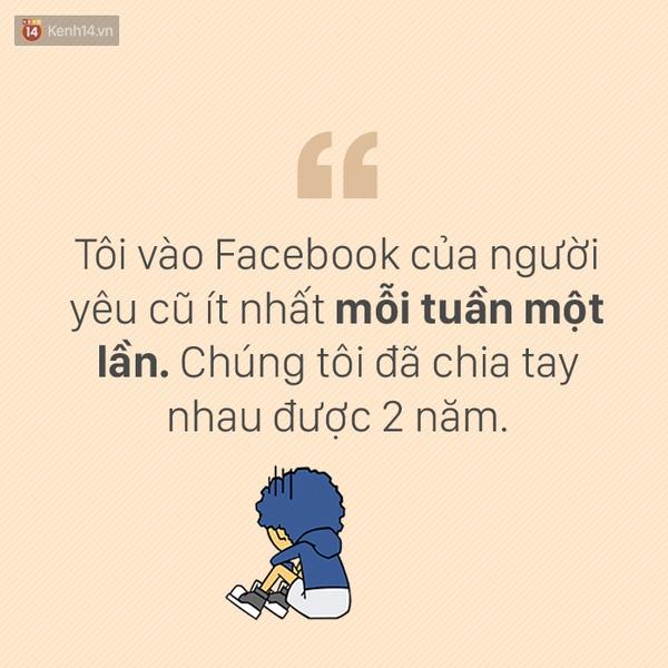 Lý do bạn vẫn vào Facebook của người yêu cũ là gì?