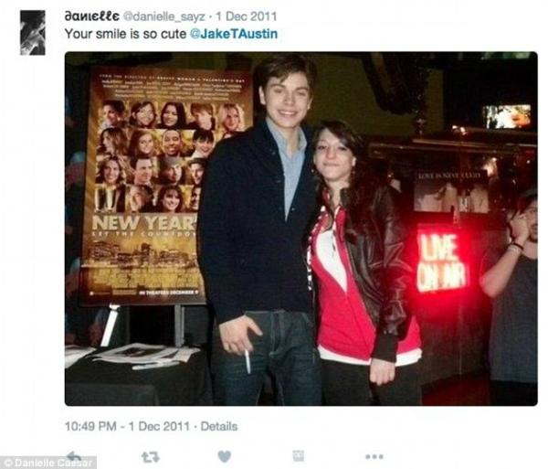 Danielle Caesar lần đầu gặp nam diễn viên nổi tiếng vào năm 2011. Ảnh: Internet