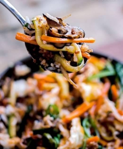 Bibimbap từng được bình chọn là 1 trong 50 món ngon nhất trên thế giới. (Ảnh: Internet)