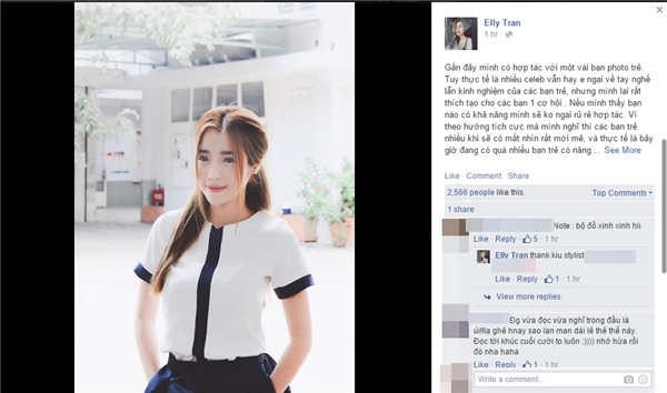 Elly Trần lên tiếng khi nhiều người lợi dụng mối quan hệ để đi sâu khai thác chuyện cá nhân của cô. - Tin sao Viet - Tin tuc sao Viet - Scandal sao Viet - Tin tuc cua Sao - Tin cua Sao