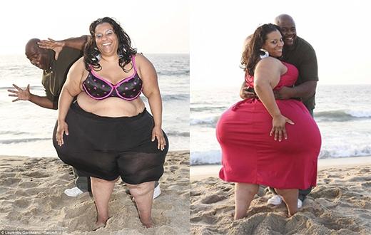 Mikel không hề có ý định thu nhỏ vòng 3 của mình và khẳng định cô hoàn toàn khỏe mạnh. (Ảnh: Internet)