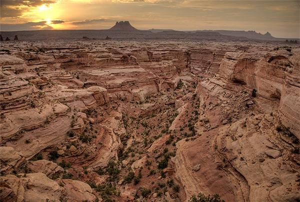 """Mê cung Utah - nơi không ai """"mong muốn"""" bị lạc.(Ảnh: Internet)"""