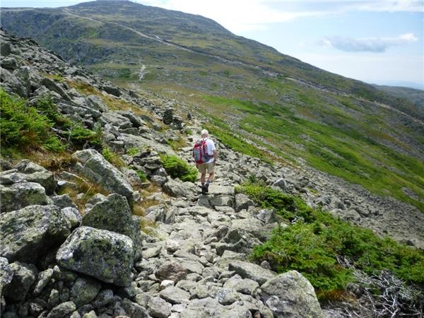 Con đường gồ ghề của núi Washington.(Ảnh: Internet)