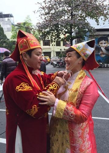Nghệ sĩ Vân Dung và nghệ sĩ Chí Trung - Tin sao Viet - Tin tuc sao Viet - Scandal sao Viet - Tin tuc cua Sao - Tin cua Sao