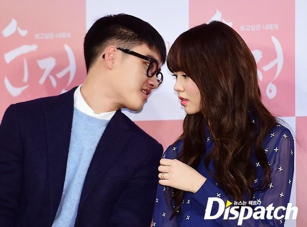 Ganh tị khoảnh khắc tình tứ của D.O. và Kim So Hyun