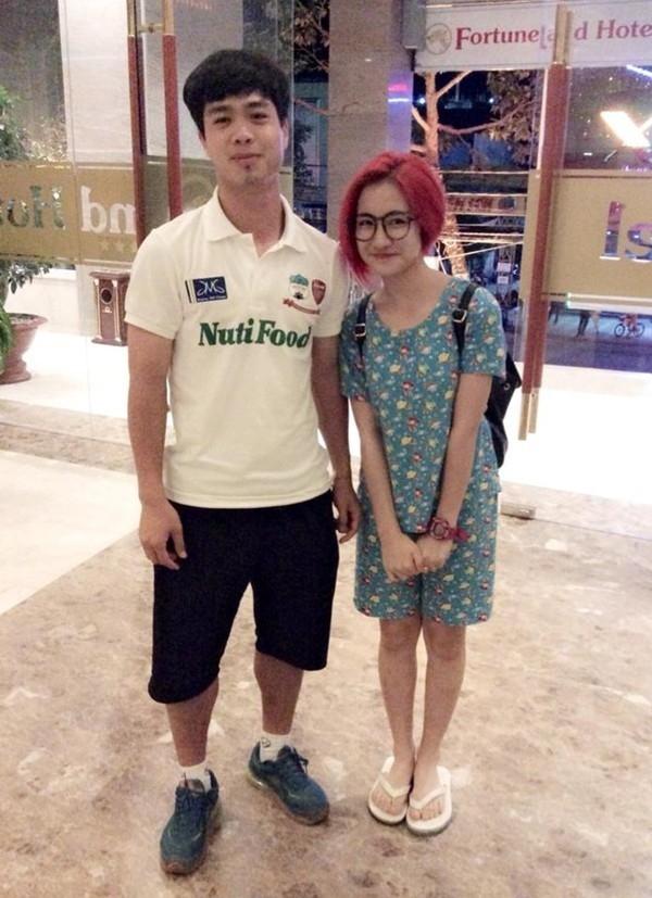 """Cặp đôi Công Phượng – Hoà Minzy từng được nhiều kì vọng sẽ trở thành """"Công Vinh – Thuỷ Tiên"""" thứ hai. (Ảnh: Internet)"""