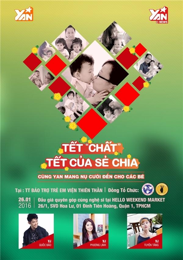 Dàn sao Việt rủ nhau tham gia Tết chất, Tết của sẻ chia