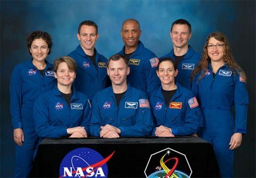 Các học viên khóa mới. (Ảnh: NASA)