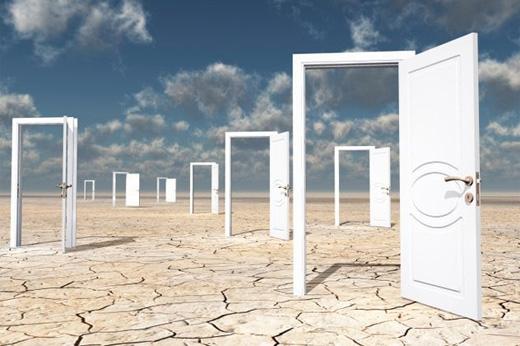 Tưởng tượng đến việc bước qua một ô cửa cũng khiến mất trí nhớ tạm thời.(Ảnh: Internet)