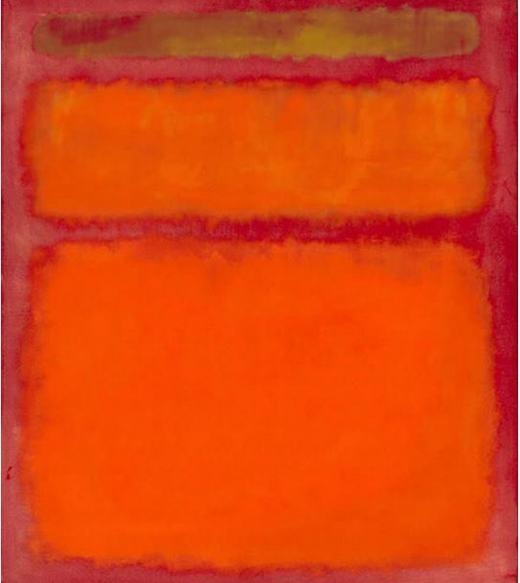 """Tác giả Mark Rothko còn có bức """"Orange, Red, Yellow"""". Giá của nó không hề """"bèo"""" chút nào, lên tới 86,9 triệu đô la(khoảng1.945 tỉ đồng)."""