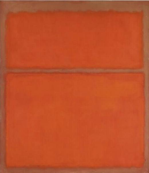 Thêm một bức tranh không đề khác được vẽ bởi Mark Rothko. Giá bán của nó là 28 triệu USD(khoảng627 tỉ đồng).