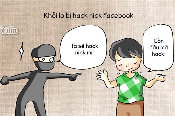 Khỏi lo bị hack Facebook nữa vì còn đâu mà hack!