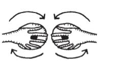 Đây là cách di chuyển ngựctheo vòng tròn.(Ảnh: Internet)
