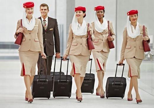 """Tiếp viên hàng không là nghề được nhiều người """"thèm muốn"""". (Ảnh: Internet)"""