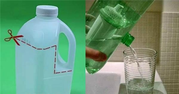 Bạn có thể tái chế chai nhựa thành vật dụng hữu ích. (Ảnh: Internet)