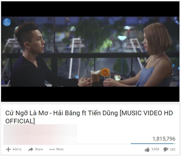 Chỉ sau ba ngày 3 tháng phát hành, MV đã nhận được hơn 1,8 triệu lượt xem và gần 6 ngàn lượt yêu thích. - Tin sao Viet - Tin tuc sao Viet - Scandal sao Viet - Tin tuc cua Sao - Tin cua Sao