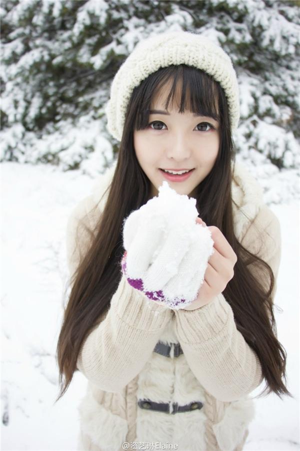 Tan chảy trước vẻ đẹp mong manh của nàng công chúa tuyết