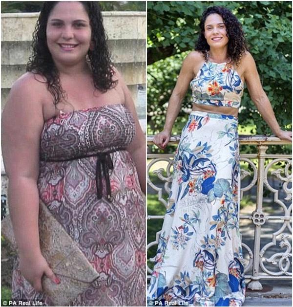 """Nathalia kể lại: """"Lúc vừa giảm được cân, tôi thấy mình luôn tràn đầy năng lượng và da dẻ đẹp hơn rất nhiều. Nhưng sau đó, tôi luôn cảm thấy đói hơn bao giờ hết""""."""